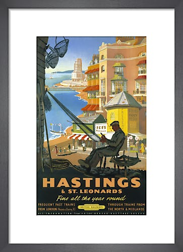 Hastings & St Leonards - Repairing Nets by Anonymous