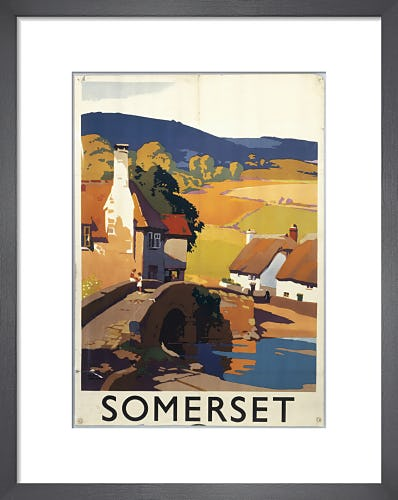 Somerset - Village I by Anonymous