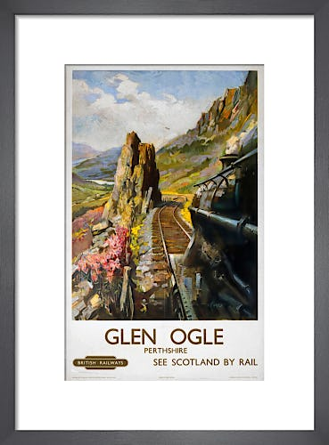 Glen Ogle, Perthshire by Anonymous