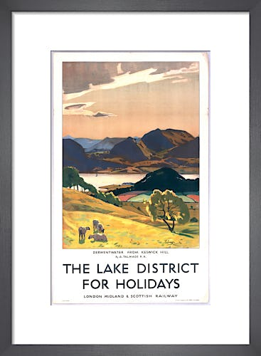 Lake District - Derwentwater from Keswick Hill by Anonymous