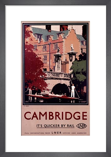 Cambridge - Punting by Anonymous