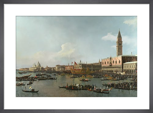 Venice: The Basin of San Marco on Ascension Day by Giovanni Canaletto