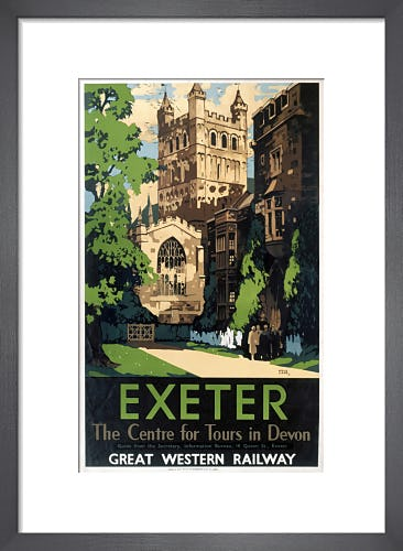 Exeter - Centre for Tours in Devon by Anonymous