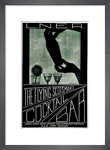 The Flying Scotsman's Cocktail Bar by Anonymous