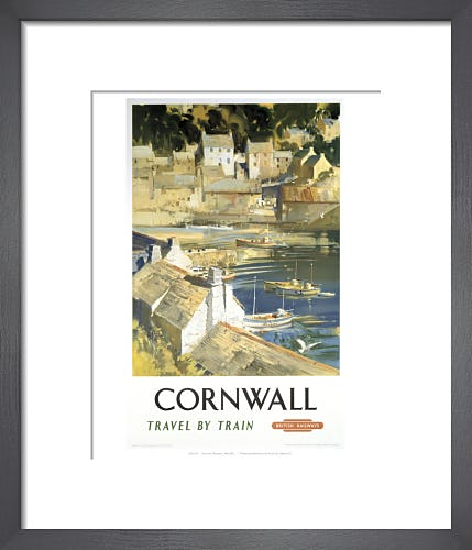 Cornwall - Harbour by Anonymous