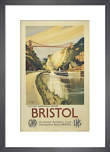 Bristol - Clifton Suspension Bridge by Anonymous