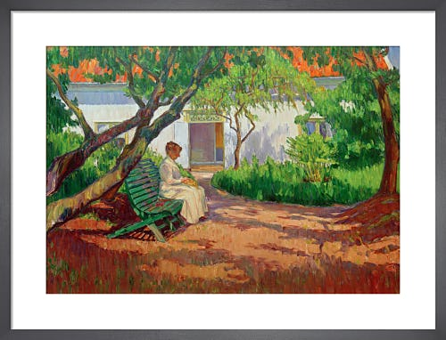 In the Garden 1913 by Karl Nordstrom