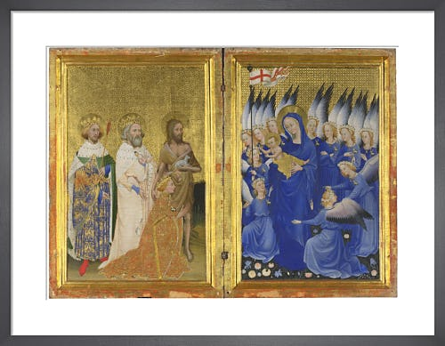 The Wilton Diptych from National Gallery