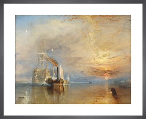 The Fighting Temeraire by Joseph Mallord William Turner