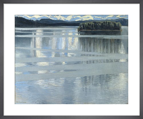 Lake Keitele by Akseli Gallen-Kallela
