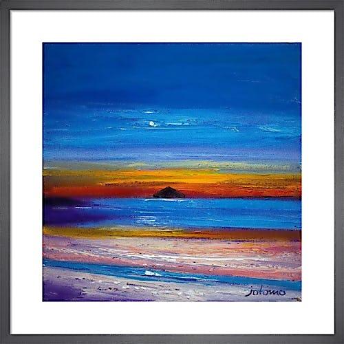 Moonrise, Ailsa Craig by John Lowrie Morrison