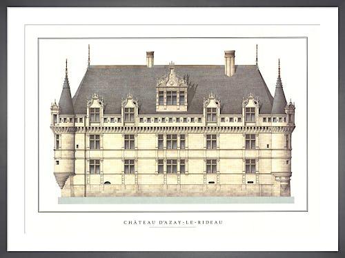 Chateau d'Azay-le-Rideau by Anonymous