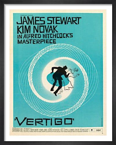 Vertigo by Saul Bass