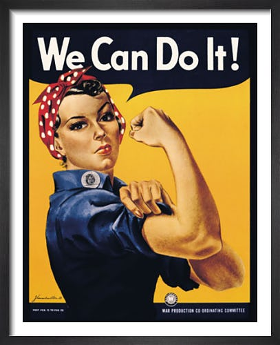 We Can Do It! by J. Howard Miller