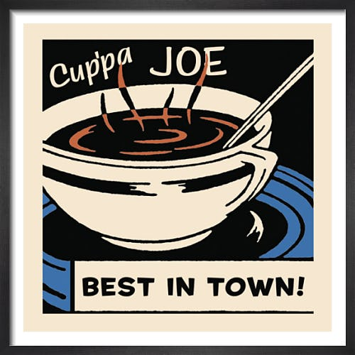 Cup'pa Joe Best in Town by Retro Series