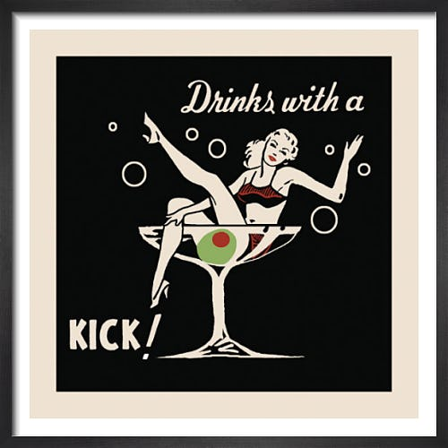 Drinks with a Kick by Retro Series