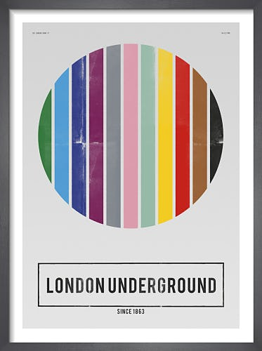 London Underground by Nick Cranston