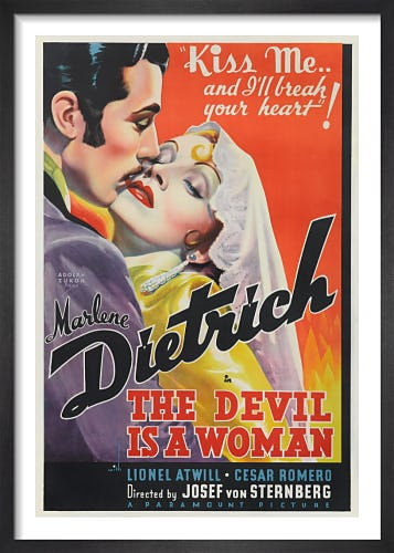 The Devil is a Woman by Cinema Greats