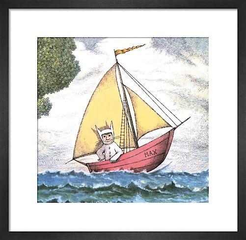 Max Sailing by Maurice Sendak