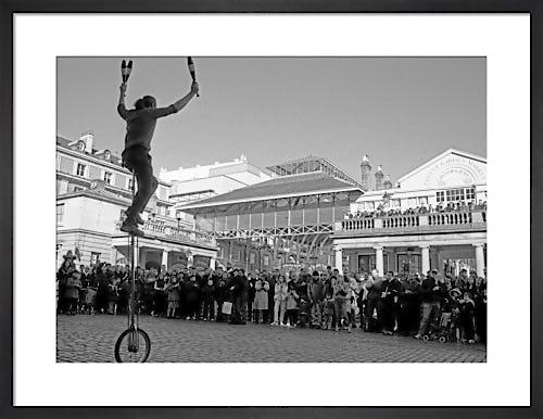 Balancing act, Covent Garden by Niki Gorick