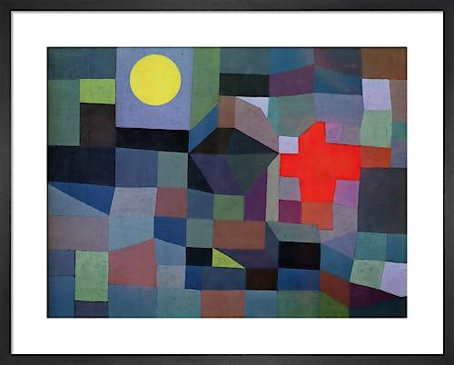 Fire Full Moon, 1933 by Paul Klee