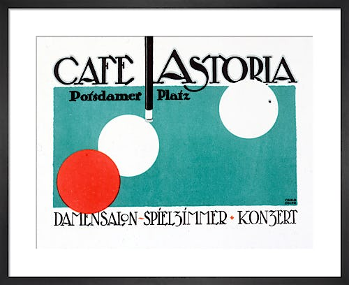 Café Astoria, Berlin 1916 by Carlo Egler