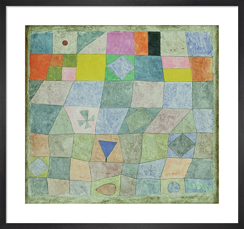 Friendly Game, 1933 by Paul Klee
