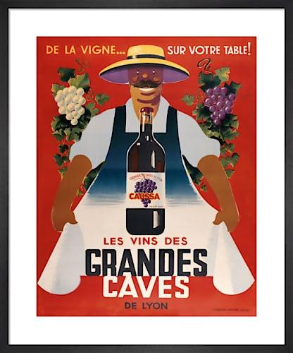 Grandes Caves by Vintage Posters