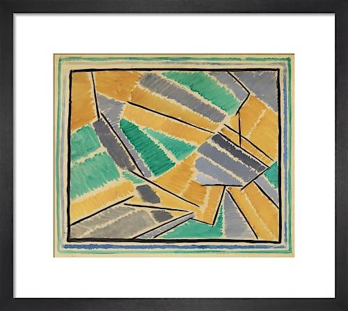 Rug design, circa 1913-16 by Omega Workshop