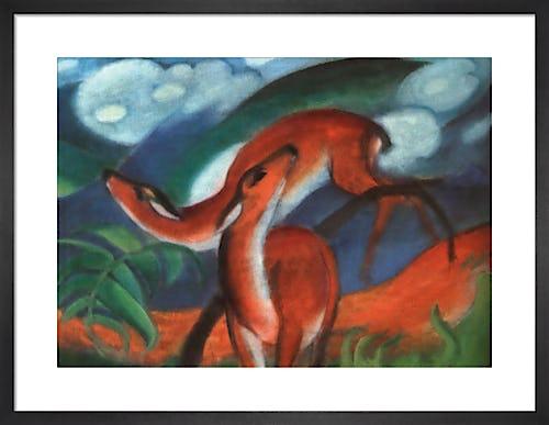 Red Deer II by Franz Marc