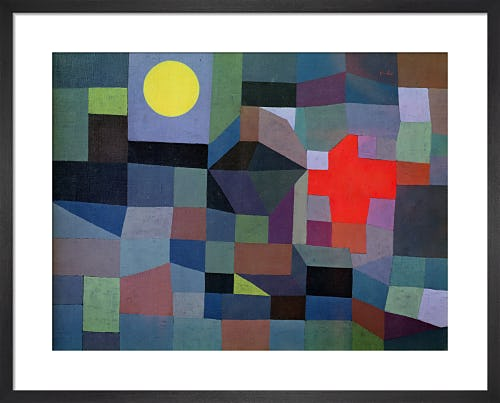 Fire at Full Moon, 1933 by Paul Klee