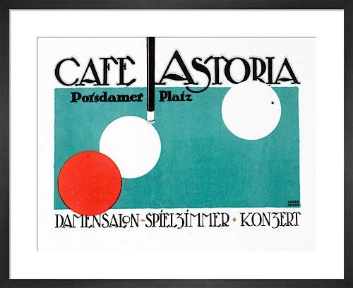 Café Astoria, Berlin 1916 by Carlo Egler