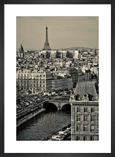 Paris Rooftops by Sabri Irmak