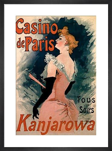 Casino de Paris - Kanjarowa, 1891 by Jules Cheret