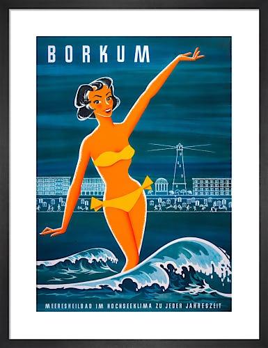 Borkum Resort, 1955 by Anonymous