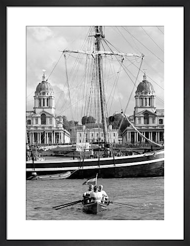The Great River Race, Greenwich by Niki Gorick