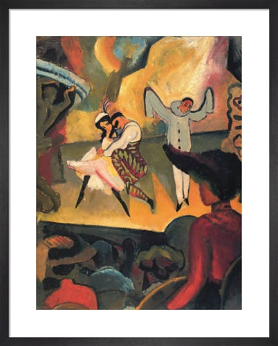 Russian Ballet by August Macke