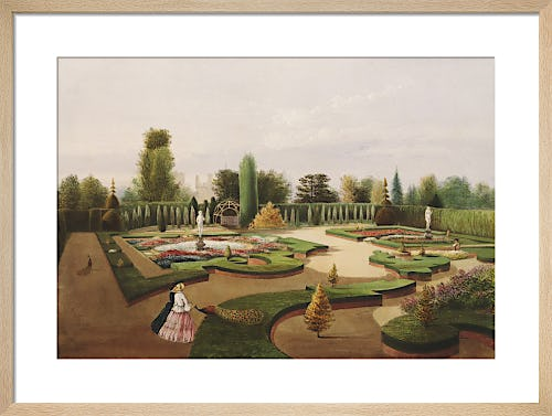 The Alhambra Garden, Elvaston Castle by Edward Adveno Brooke