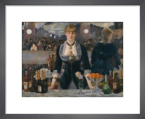 A Bar at the Folies Bergère by Edouard Manet