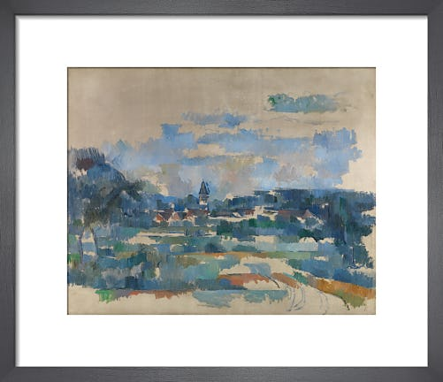 Route tournante by Paul Cezanne