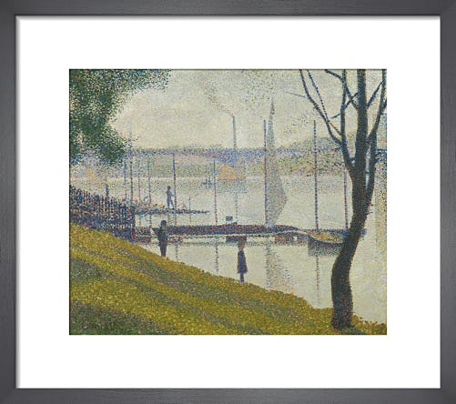Bridge at Courbevoie by Georges Seurat