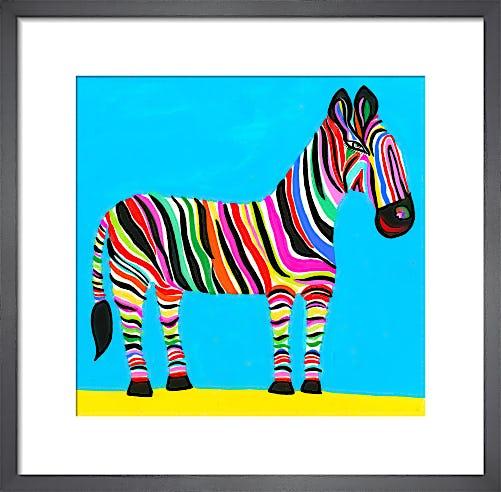 Rainbow Zebra by Christopher Corr