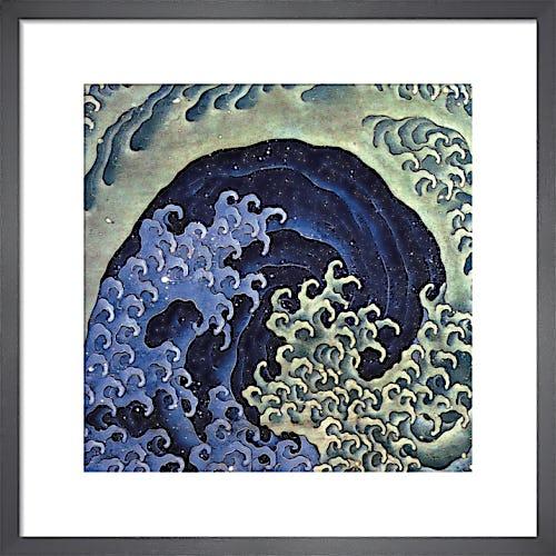 Feminine Wave by Katsushika Hokusai