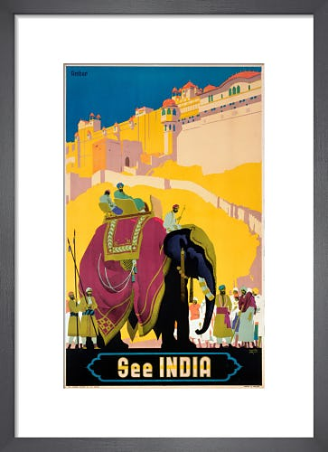 See India - Elephant by Anonymous