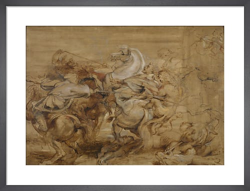 A Lion Hunt by Sir Peter Paul Rubens