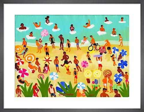 Brazil Beach by Christopher Corr