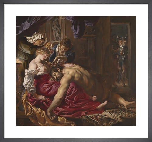 Samson and Delilah by Sir Peter Paul Rubens