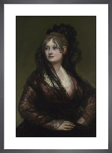 Doña Isabel de Porcel by Francisco Goya