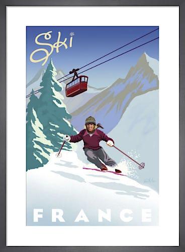 Ski France by Kem McNair