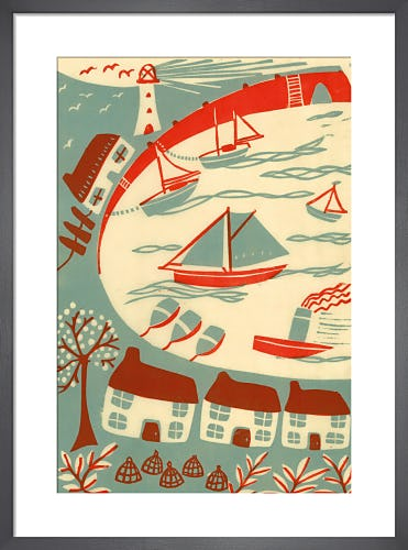Harbour Scene by Fiona Howard